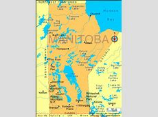 Manitoba Map Infoplease