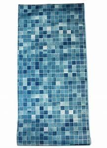 Mosaik Fliesen Blau : tapete selbstklebend k chentapete mosaik fliesen blau ~ Michelbontemps.com Haus und Dekorationen