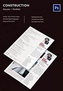Adobe Photoshop Cv Template Project Manager Resume Template 10 Free Word Excel