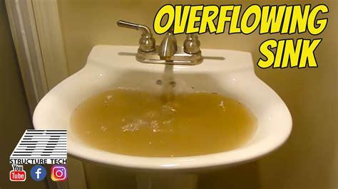 overflowing sink youtube