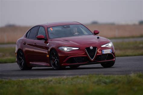 Carabinieri Alfa Romeo Giulia Q Already Spotted On 503 Hp