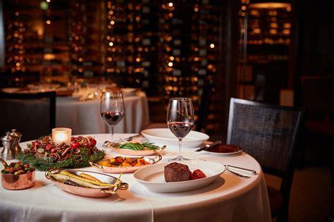 cuisine dinner festive dinners restaurants at a luxurious