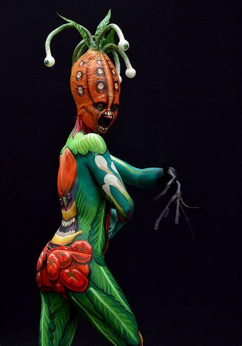 incredible body art    world bodypainting