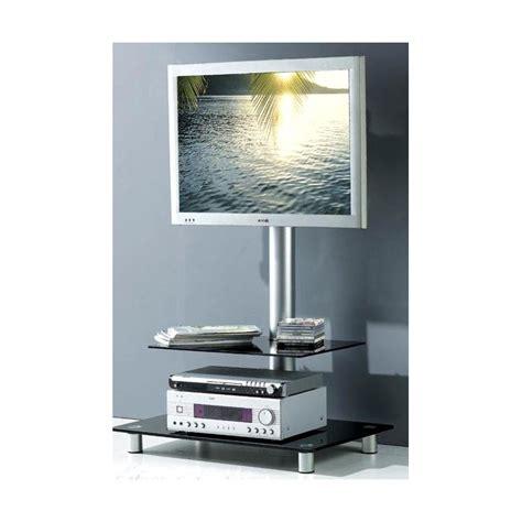 meuble tele avec support meuble tv design noir avec support plasma cosy solutions pour la d 233 coration int 233 rieure de