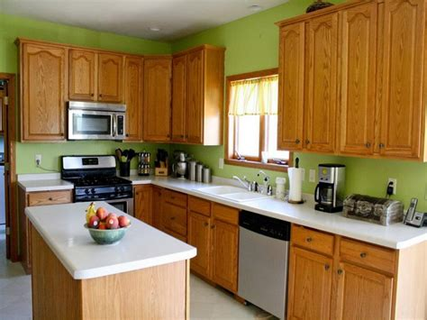 Green Kitchen Walls, Green Kitchen Wall Color Green