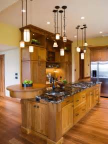 kitchen lighting fixture ideas kitchen lighting excellent updated mission style the raised bar at the end cool