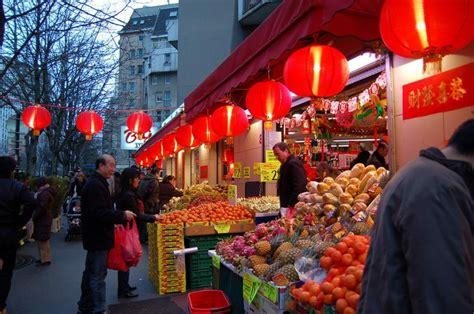 dans le quartier chinois photo de 13ème arrondissement plan quartier chinois de sur la carte de