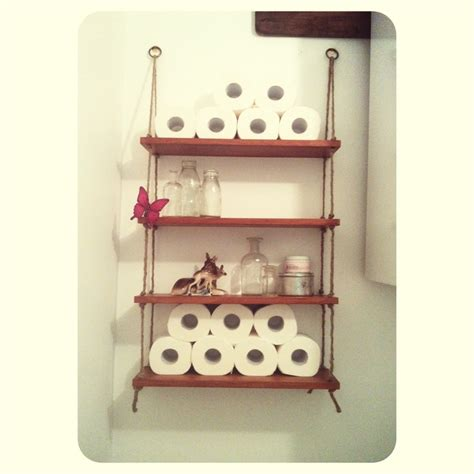 Home Depot Decorative Rope Shelf by Diy Rope Shelves Made From An Cd Unit Drill Some