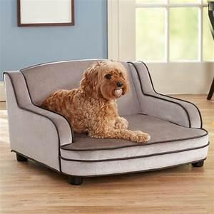 Sofa Pour Chien : le lit pour chien n cessaire et amusant ~ Teatrodelosmanantiales.com Idées de Décoration
