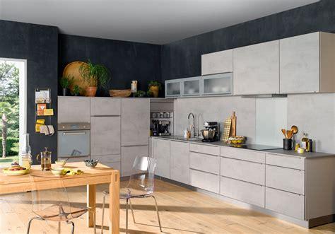 les decoration de cuisine cuisine gris vert blanc