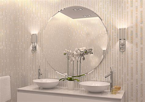 wandspiegel quot rondell quot badspiegel ohne beleuchtung