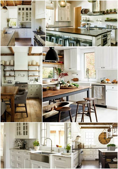 Home Decor: White Kitchen Inspiration Board   How To: Simplify