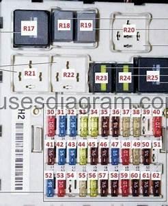 Fuse Box Ford Focus Mk1