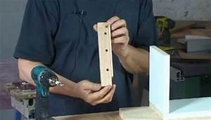 Fabriquer Tenon Mortaise : assemblage par tourillon fabriquer un gabarit tourillon ~ Premium-room.com Idées de Décoration