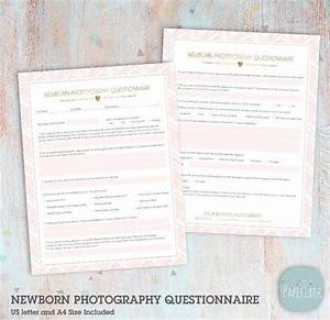 Newborn Photography Questionnaire Client Questionniare