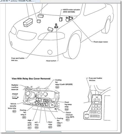 similiar 99 maxima ecu wiring keywords 1989 dodge dakota fuse box diagram furthermore 99 nissan altima wiring
