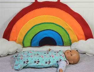 Kissen Für Kinder : regenbogen kissen n hen blog alles fuer selbermacher ~ Buech-reservation.com Haus und Dekorationen