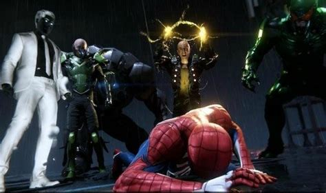 spiderman ps villains create  perfect storm  player