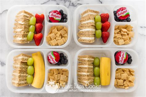 lunches for all the lunches what lisa cooks