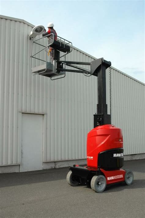 manitou vjr  mast boom lift jms powered access
