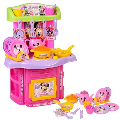 minnie mouse kitchen playset 18 pcs minnie mouse kitchen playset children s