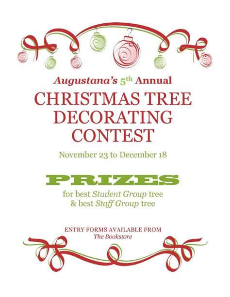 100 christmas cubicle decorating contest rules