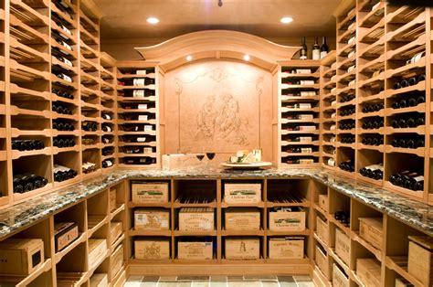 important considerations   custom wine cellar wine