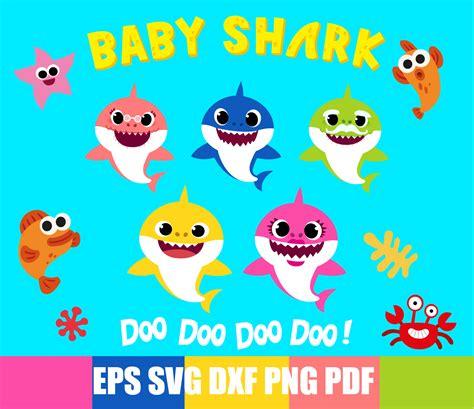 Baby Shark Birthday SVG