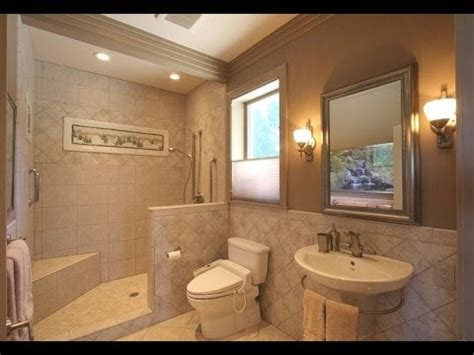 modern handicap bathrooms    stylish