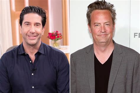 Does david schwimmer have tattoos? David Schwimmer Jokes About Matthew Perry's 'Big News' Comment   PEOPLE.com