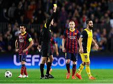 Champions League Atletico Madrid Vs Barcelona Referee