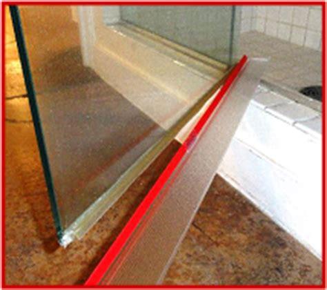 shower door drip rail shower door drip rail photo showing 3m vhb transparent