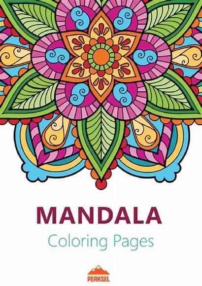 Mandala Coloring Adults Printable Pages Pdf Wikimedia