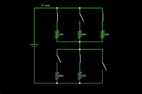 Resistors Circuit Simulator