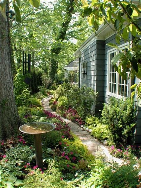 side yard landscaping ideas the secret garden