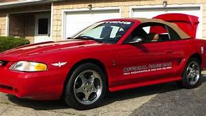 2004 Ford Mustang Svt Cobra Pace Car For Sale