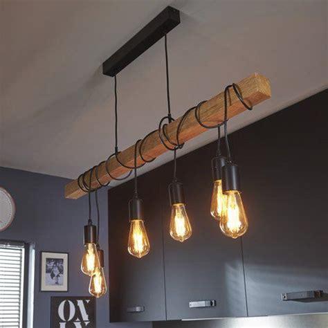 lustre cuisine suspension luminaire bleu marchesurmesyeux