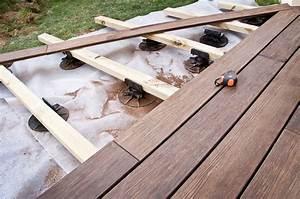 terrasse entre permis de construire et legislation With construction d une terrasse en bois