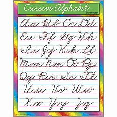 Educational School Posters  Cursive Letter Writing Chart For The Classroom Free Delivery Uk & Eu