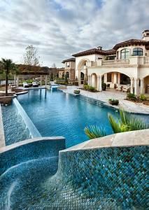 20 Artistic Mediterranean Swimming Pool Designs You U0026 39 Re