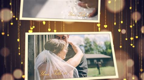 Wedding Slideshow Premiere Pro Templates