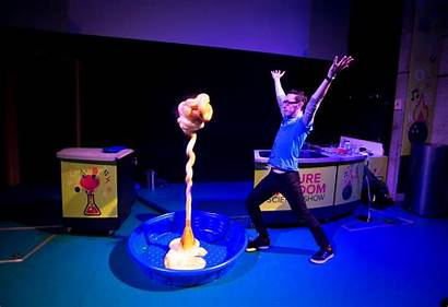 Science Theatre Shows Toothpaste
