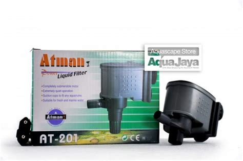 atman   water pump filter powerhead pompa air