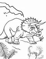 Coloring Pages Triceratops Canyon Grand Printable Coloringcafe Spinosaurus Books Getcolorings Pdf Gemerkt Von sketch template