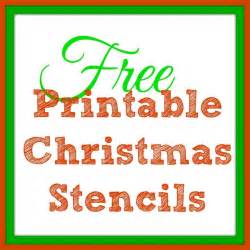 diy ornament place card free printable stencils tree