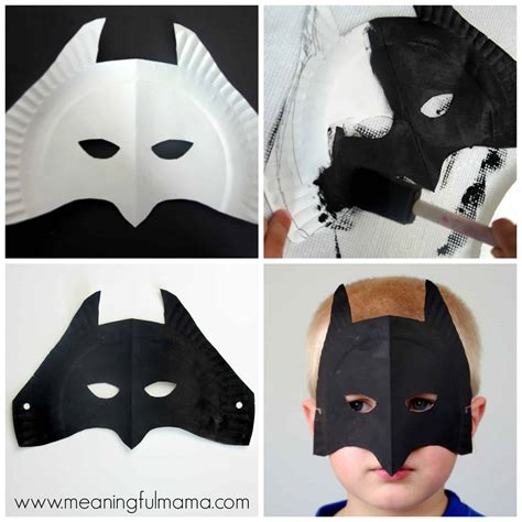 paper mask paper plate masks