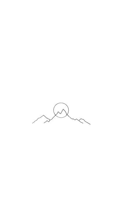 black minimalist background tumblr wallpaper
