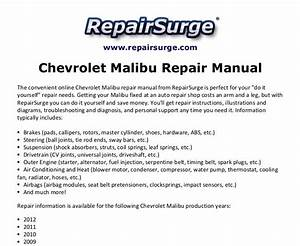 2010 Chevy Malibu User Manual