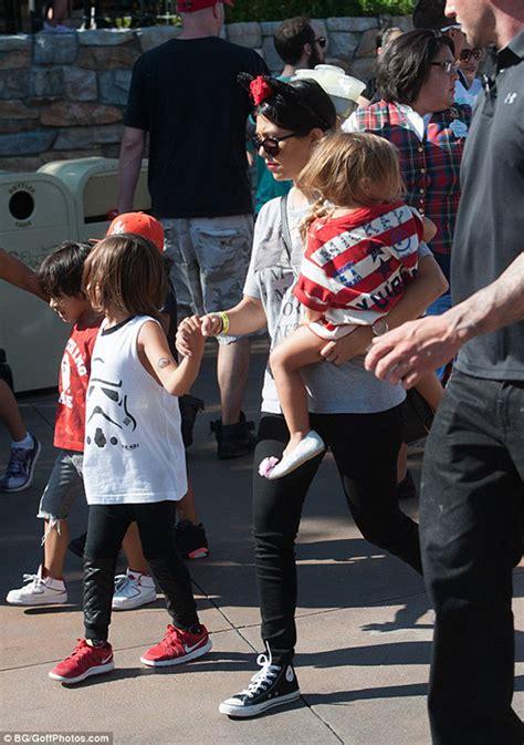 The Kardashians Style it out at Disneyland