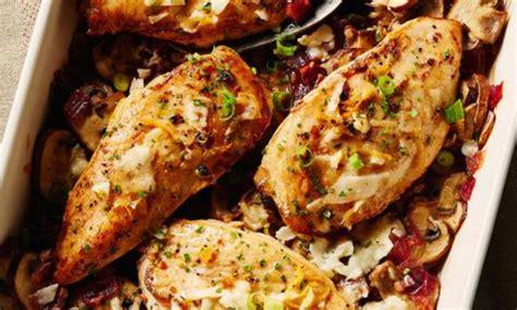 recette simple de poulet aux chignons au vin blanc et au citron le poulet du qu 233 bec